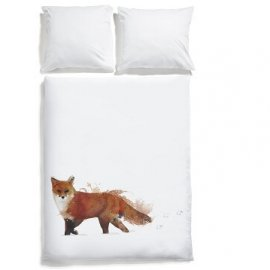 pościel lis white pocket fox bedding