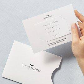 karta podarunkowa white pocket
