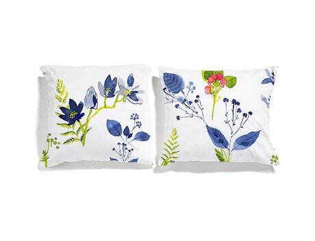 flower pillowcases set