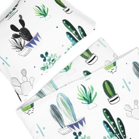 pościel kaktusy white pocket