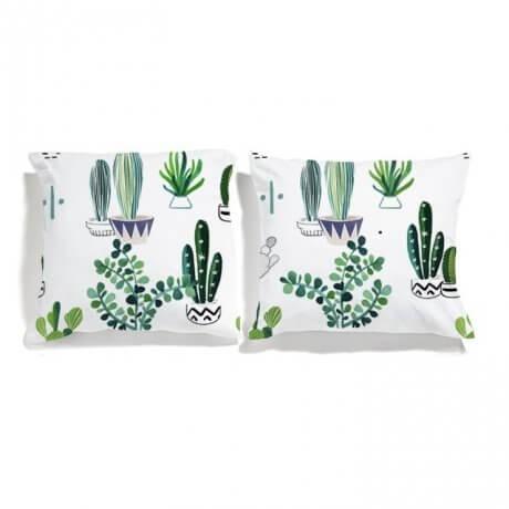 poszewki kaktusy
