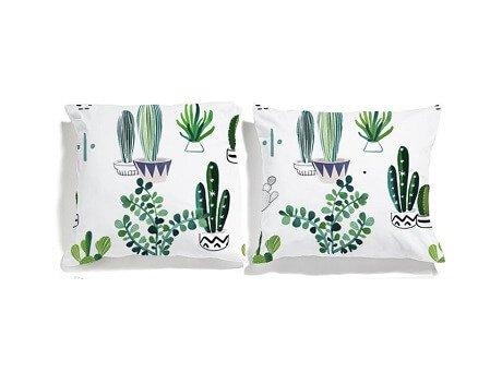 poszewki kaktusy white pocket