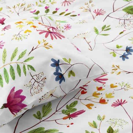 flower bedding white pocket