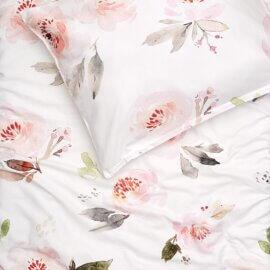 pościel w róże white pocket róże angielskie