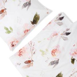 pościel róże white pocket