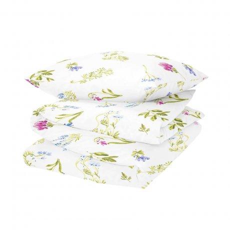 pościel polne kwiaty łąka white pocket