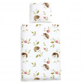 hedgehog bedding white pocket