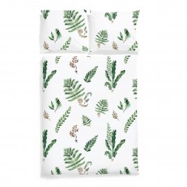 fern bedding white pocket
