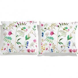 flowers pillowcases white pocket
