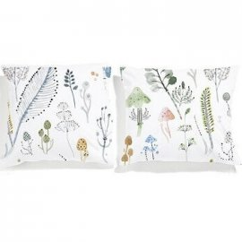 magic forest pillowcases set white pocket