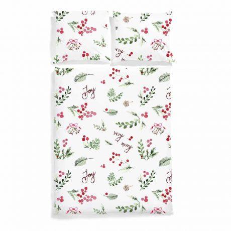 pościel świąteczna very merry white pocket