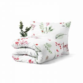 Very Merry Bedding Set Unique Home Textiles White Pocket