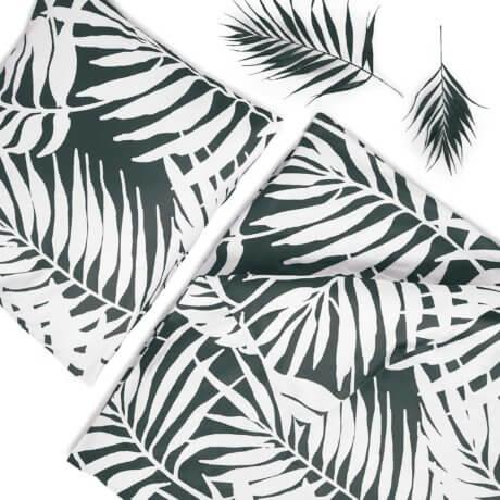 pościel białe palmy white pocket