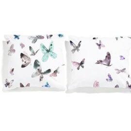 poszewki white pocket motyle