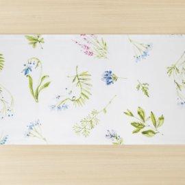 bieżnik łaka w kwiatki white pocket
