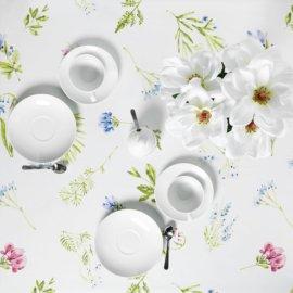 obrus łąka w kwiatki white pocket