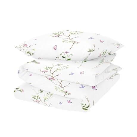 pościel w kwiaty white pocket