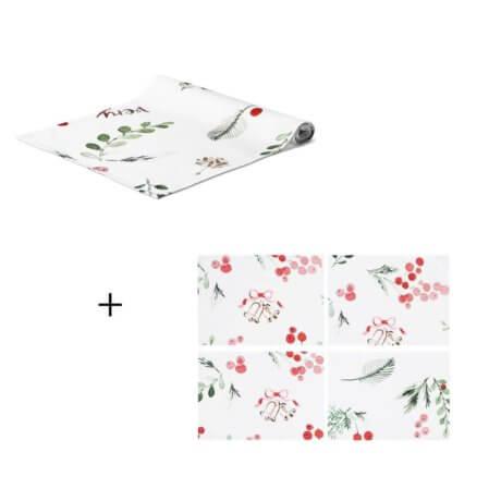 zestaw na stół very merry white pocket