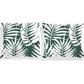 poszewki białę palmy white pocket