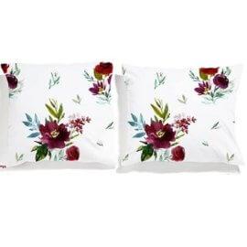 poszewki w kwiaty bukiety white pocket