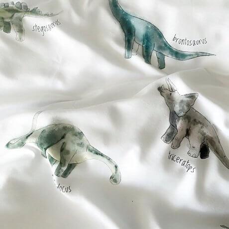 pościel dinozaury white pocket