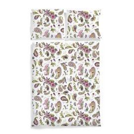 Pościel wzór paisley white pocket