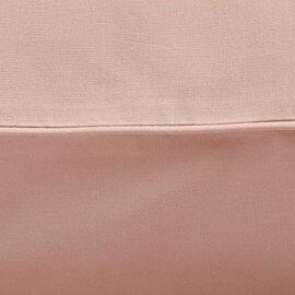 pościel brudny róż z lamówką white pocket