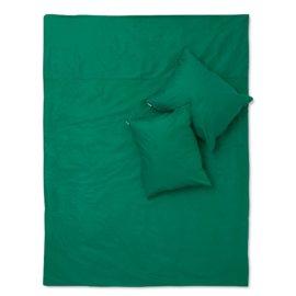 pościel butelkowa zieleń basic white pocket