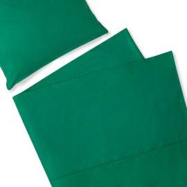 pościel butelkowa zieleń white pocket