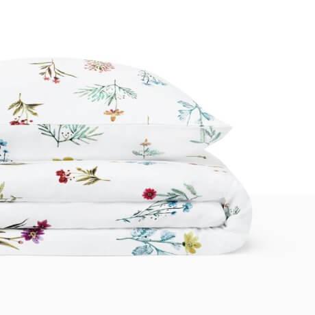 pościel polne kwiaty white pocket