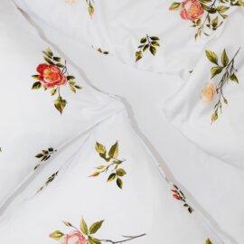 pościel dzika róże dziki róże white pocket