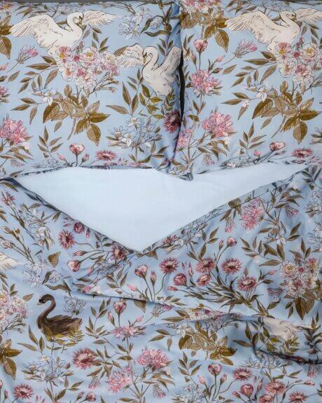 pościel łabędzie white pocket