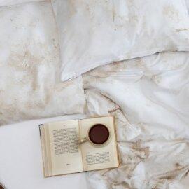 pościel marmur white pocket