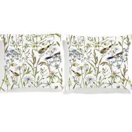 poszewki w ptakie white pocket