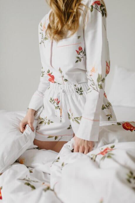 piżama dzikaróża