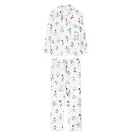 piżama w kwiaty polne
