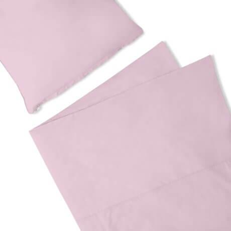 pościel liliowa white pocket