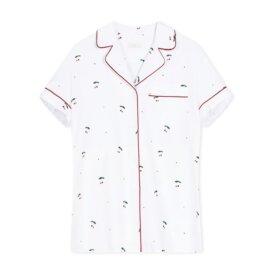 koszula od piżamy czeresnie