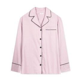 kozula od piżamy brudny róż white pocket